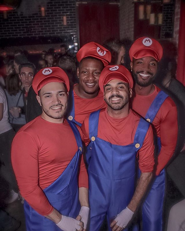 On our way to Mushroom Kingdom 🏰 #FourLivesMatter #HappyHalloween