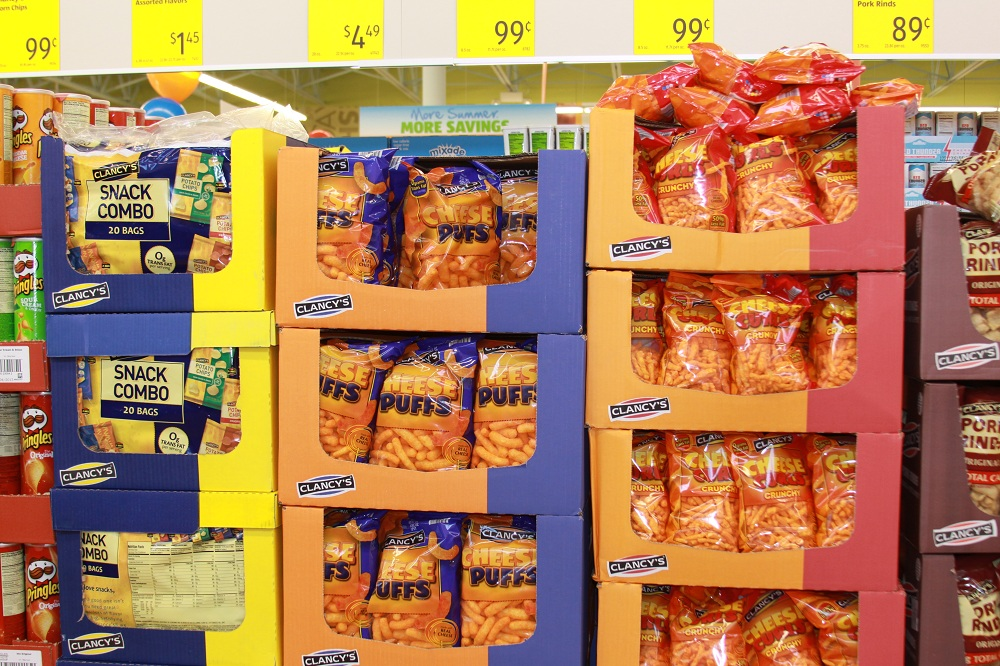 Aldi Typical Display Area