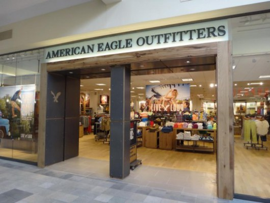 Storefront at Killeen Mall in Texas, Duluth's will be loosely based off of this design.