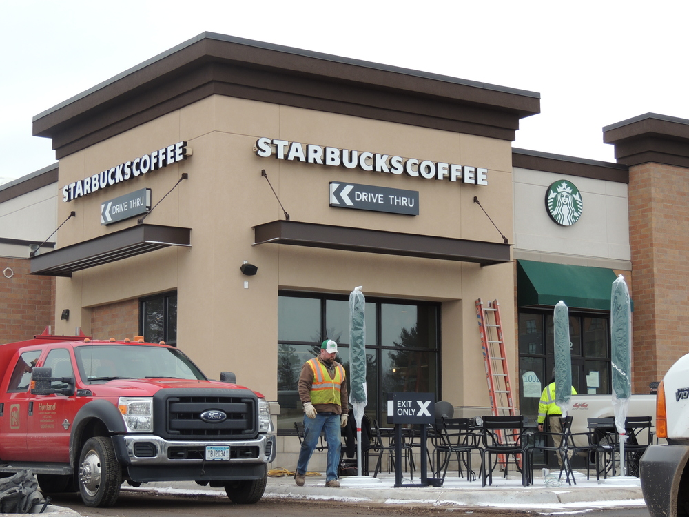 Duluth's newest Starbucks location will open this coming Friday, March 21st.