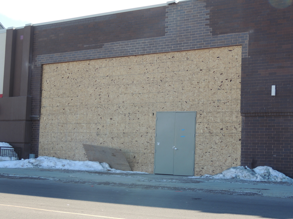 Current state of Duluth's first Chipotle Mexican Grill location.