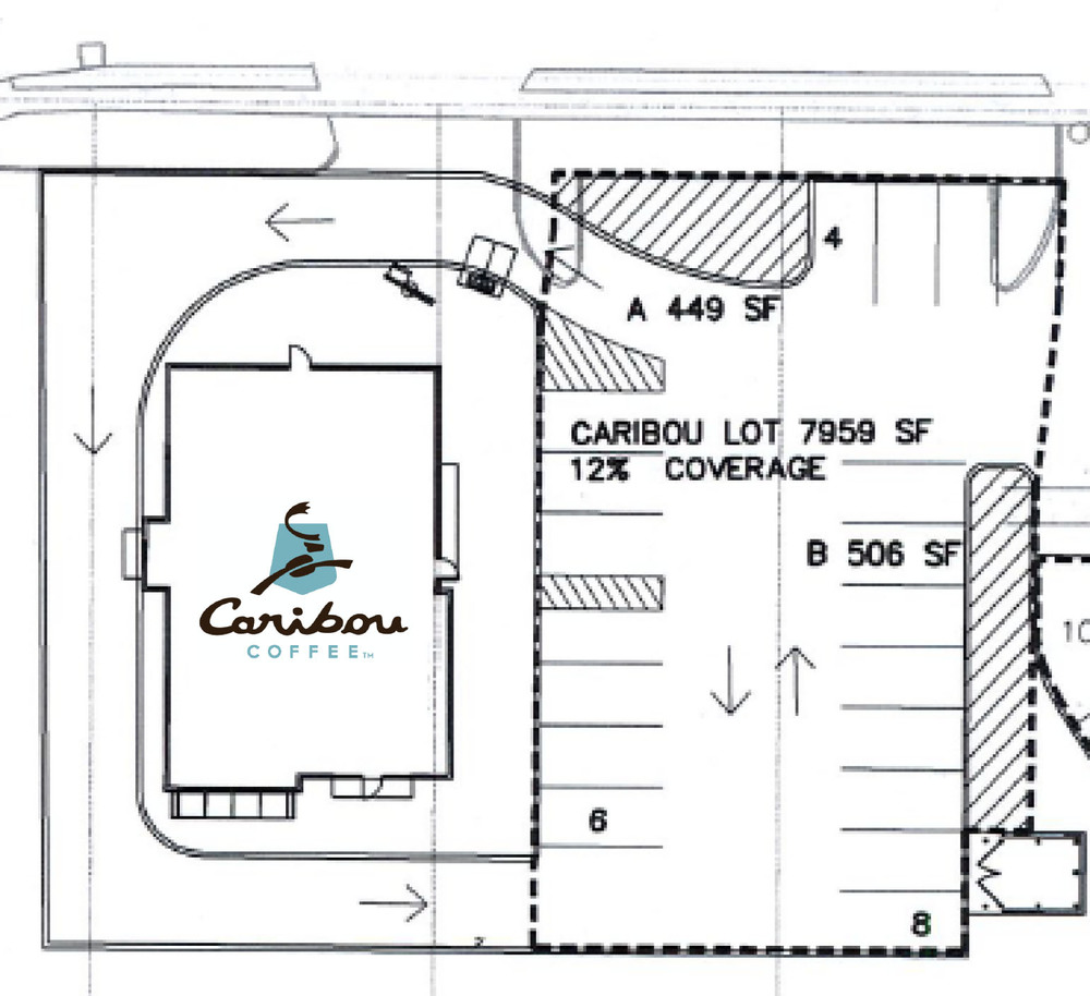 Above: Proposed Caribou Coffee location (On the corner of 21st Avenue E and London Road)