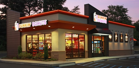 Above: Dunkin' Donuts prototype design. (Image proved by Dunkin' Donuts).