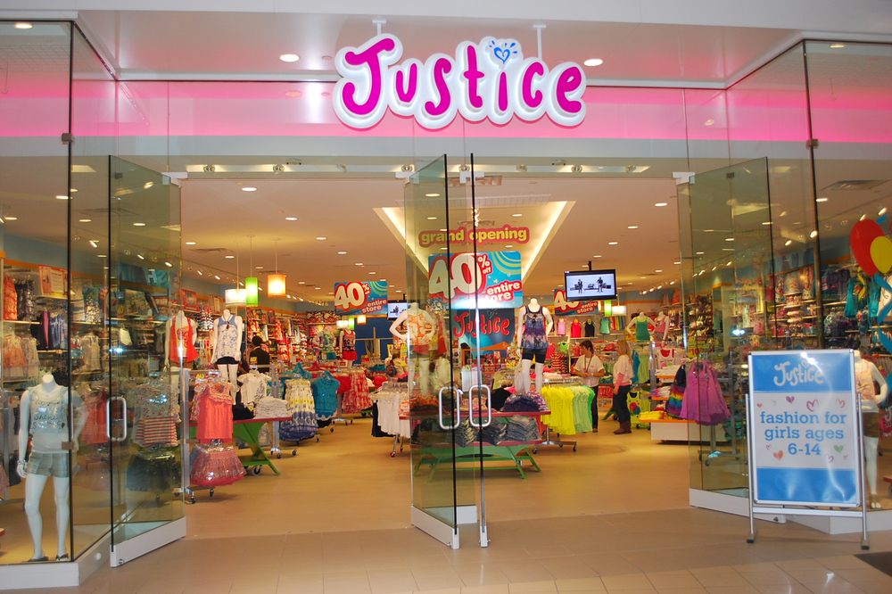 Above:  New Justice prototype store