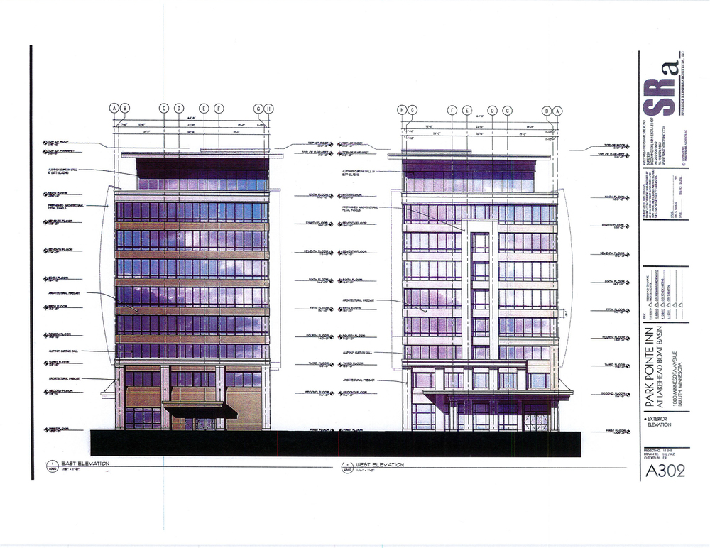 Side Elevations  |  Duluth Planning Comission