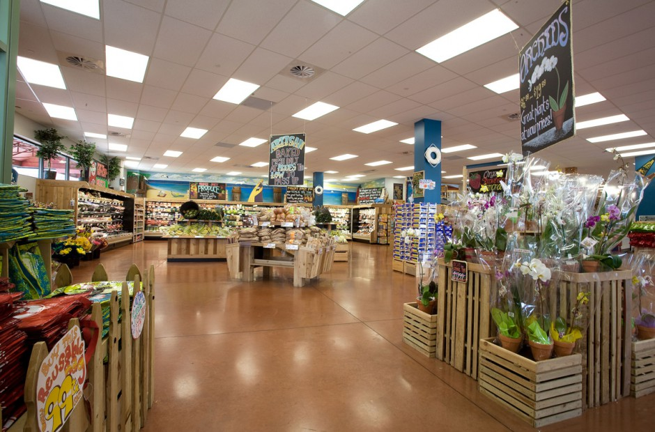 Interior of a typical Trader Joe's store   (Leopardo Construction)