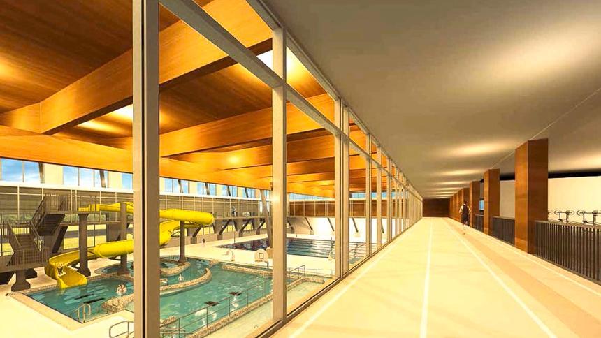 Interior rendering |  LHB
