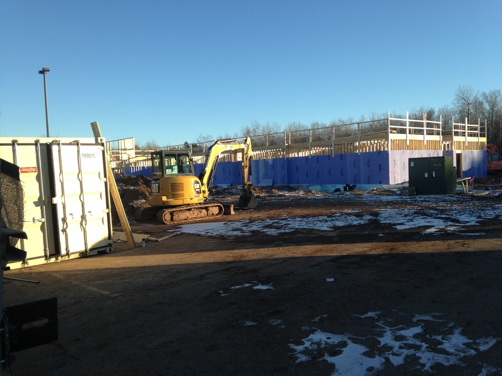 Construction on the second Hampton Inn location in Duluth  |  CDINDULUTH