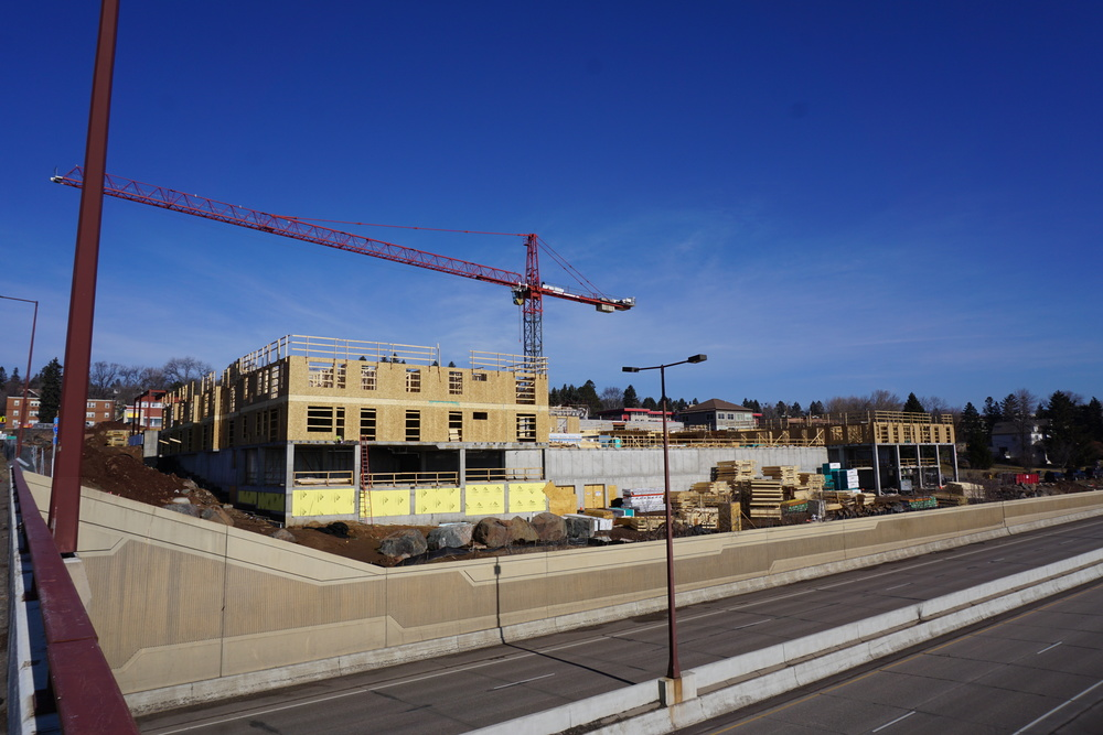 Construction as of January 29th |  CDINDULUTH