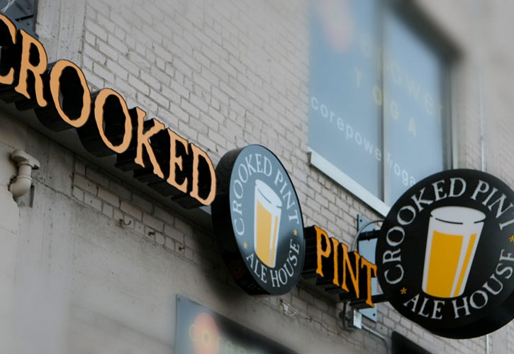 Crooked Pint in Minneapolis  |  Crooked Pint