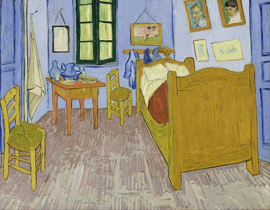 "Vincent Van Gogh, ""The Bedroom at Arles"""