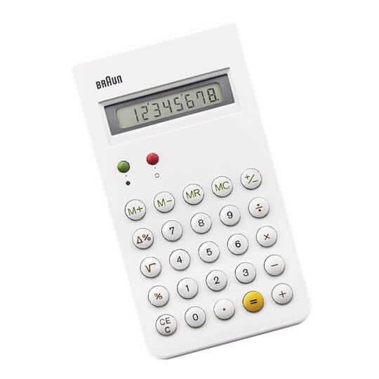 Braun Calculator -