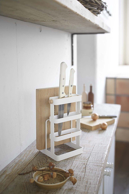 Cutting Board & Knife Stand -