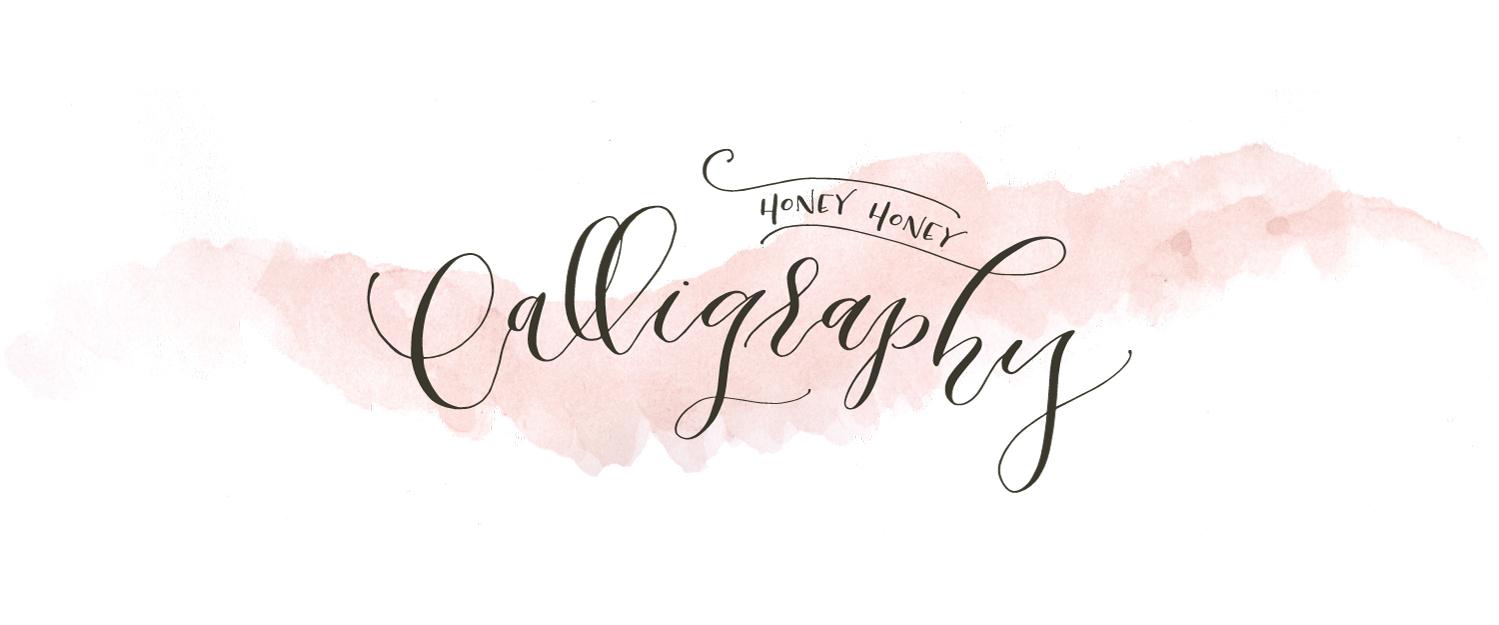Honey Honey Calligraphy