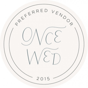 Once Wed 2015 Badge