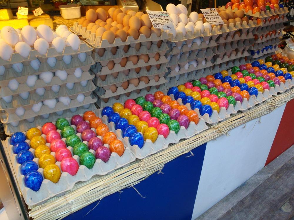 Viktualienmarkt at Easter