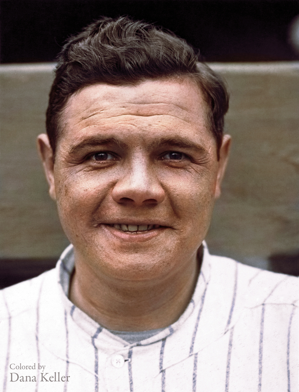 "Baseball legend ""Babe"" Ruth, ca. 1920"