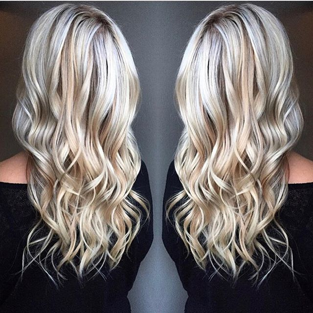 Going, going, BLONDE  Hair by : @hairbysabrii