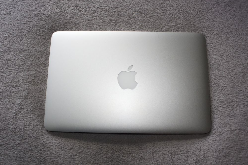 My trusty MacBook Air. It's love