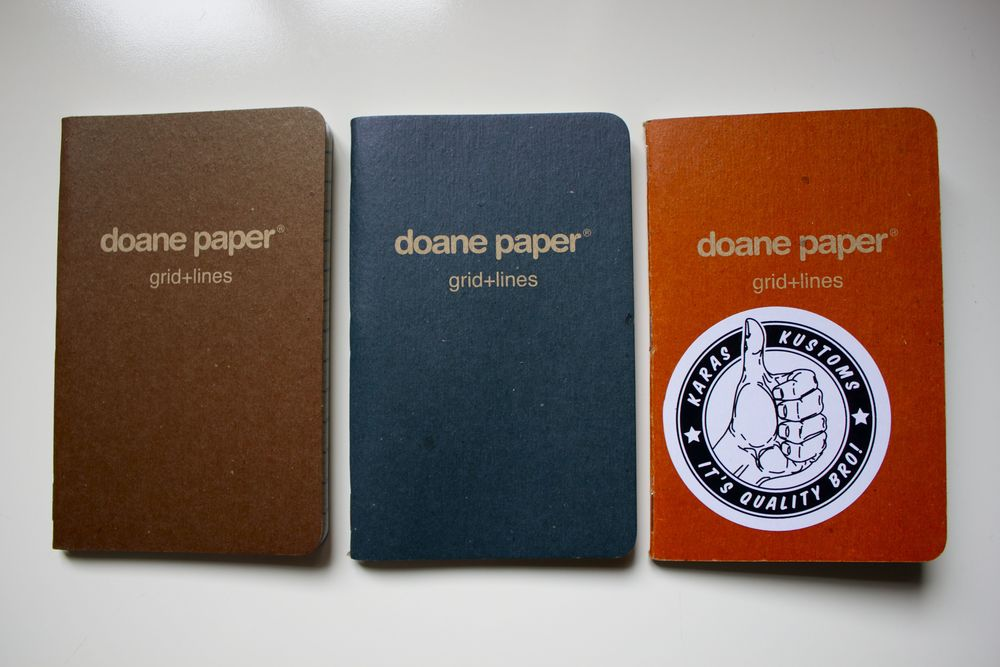 Doane Paper Garage Series Pocket Notebooks