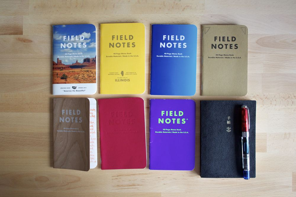 Feb 2014 - Dec 2014 - Journaling in Field Notes
