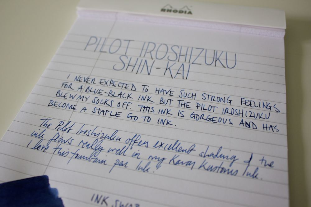 Shin-Kai writes well no matter what your writing style