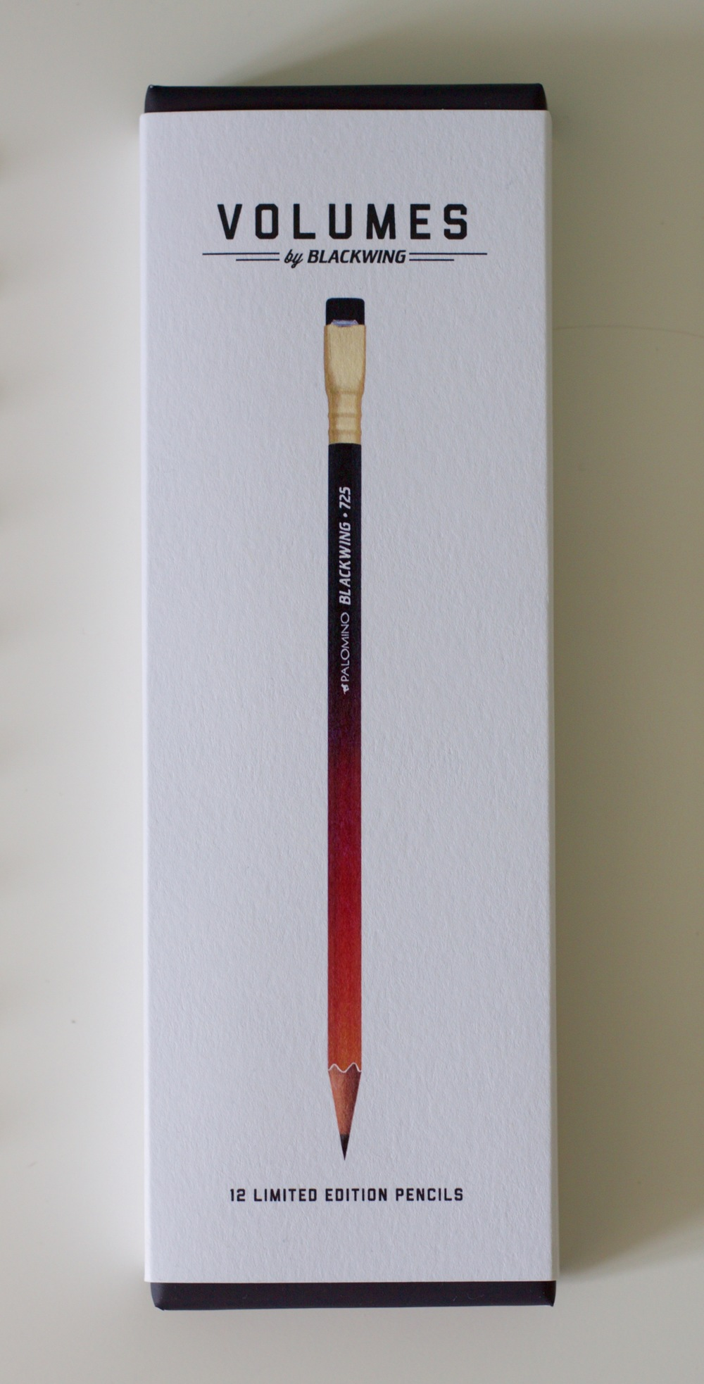 Beautiful Blackwing packaging