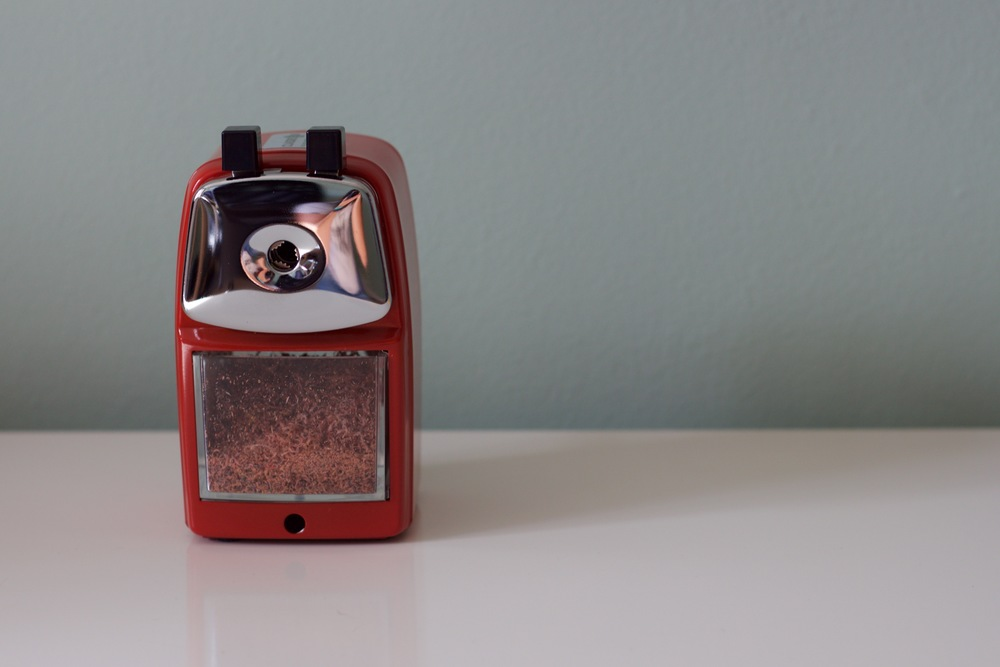 The classroom friendly sharpener