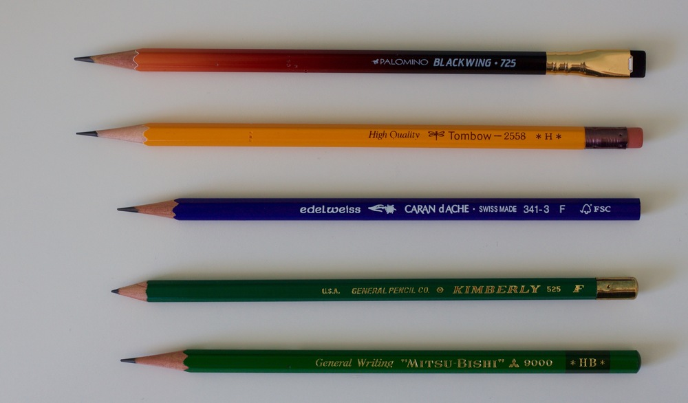 Octobers preferred pencils