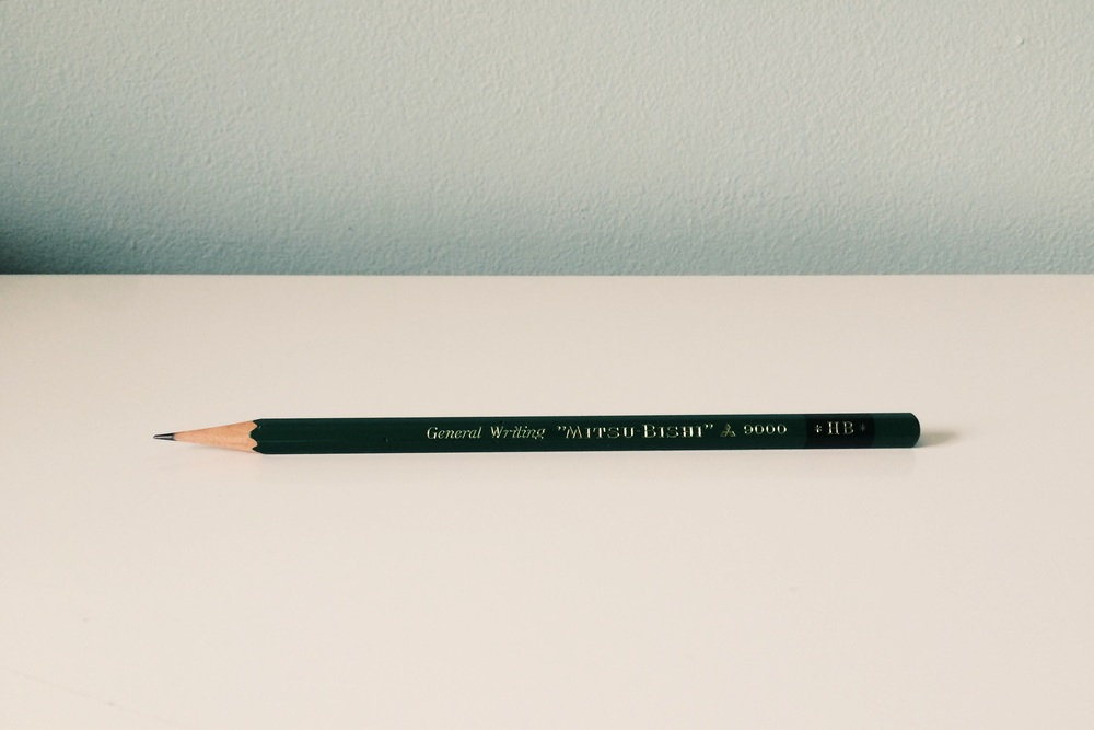 Mitsu-bishi 9000 pencil