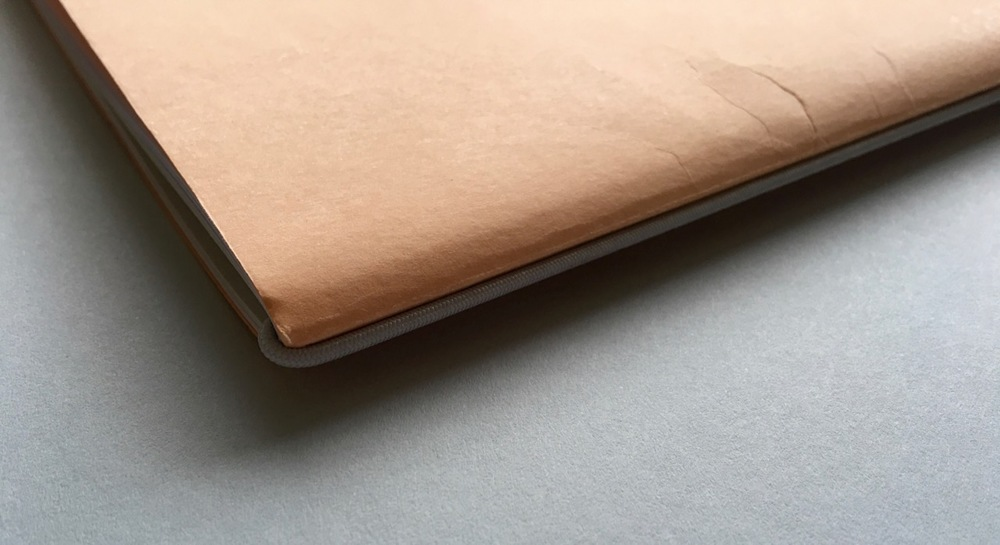 A view of the elastic binding
