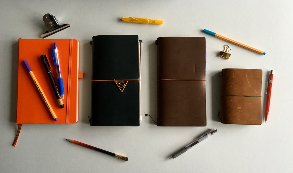 My main journaling tools