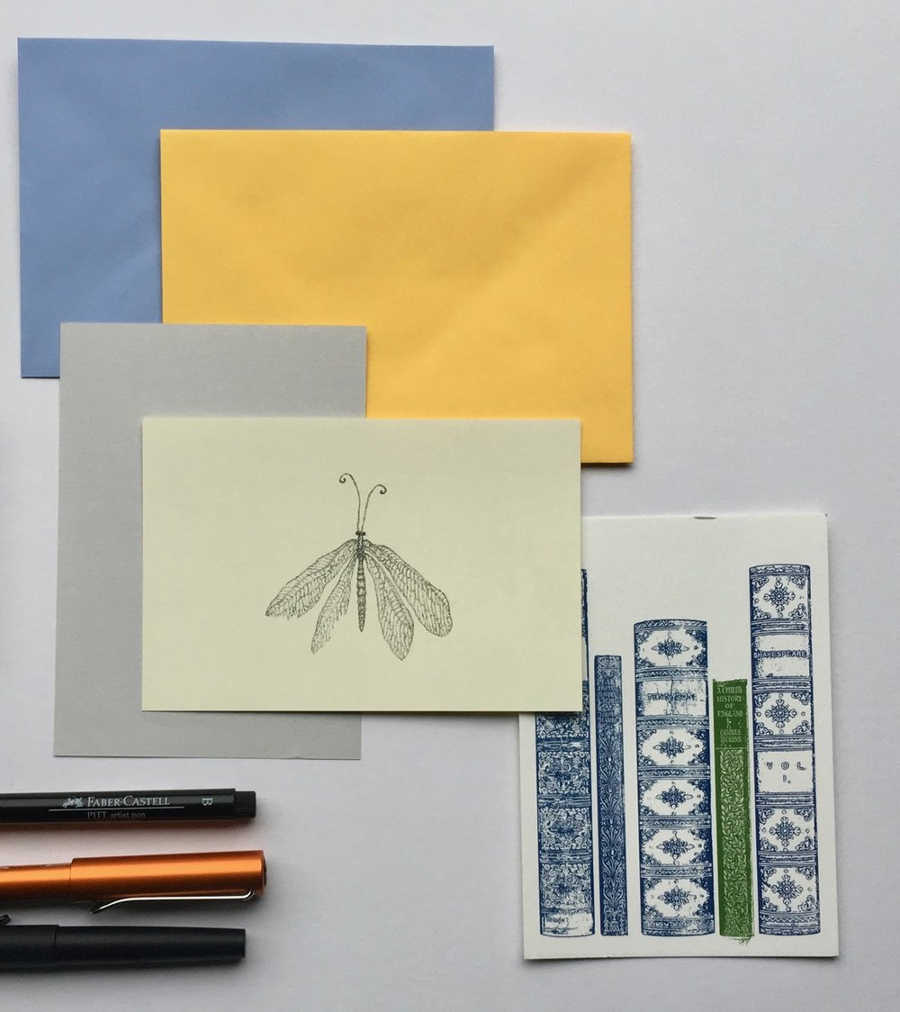 Close up of the gorgeous envelopes from First for Paper