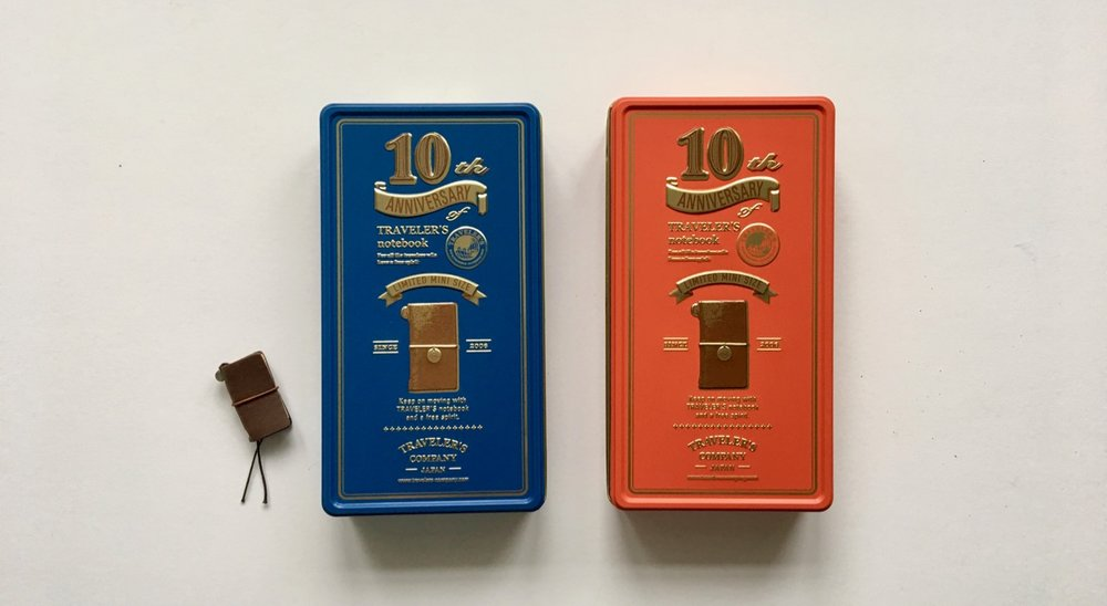 Beautifully designed tins
