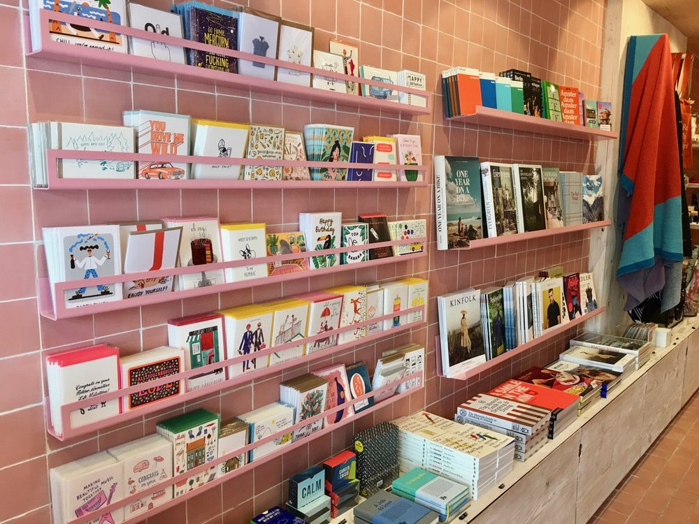 Greetings cards, magazines and travel essentials