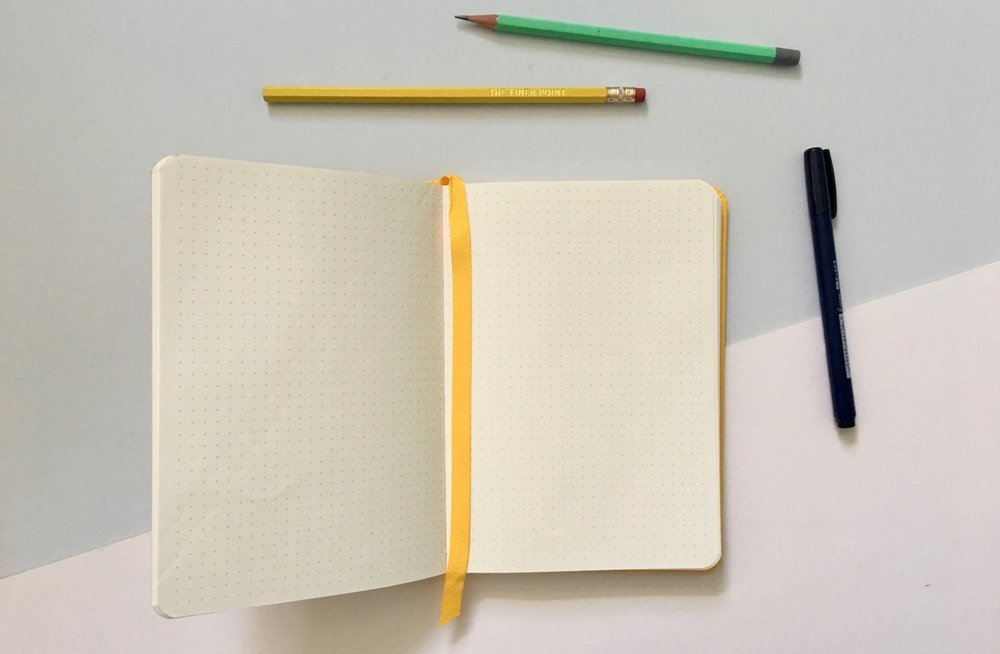 The Baron Fig dot grid paper