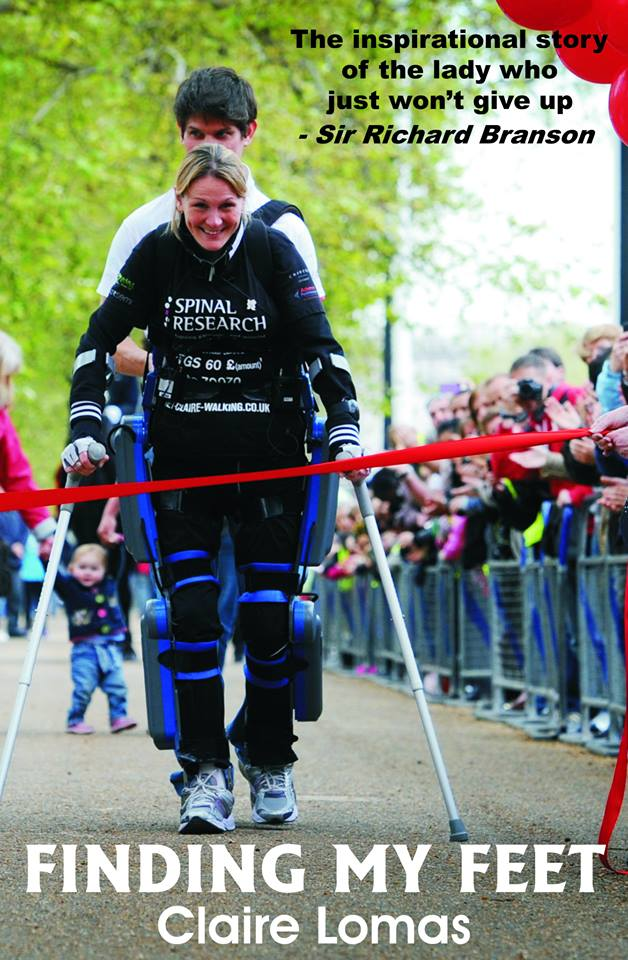 Claire Lomas keeps fit with a daily RehaMove session