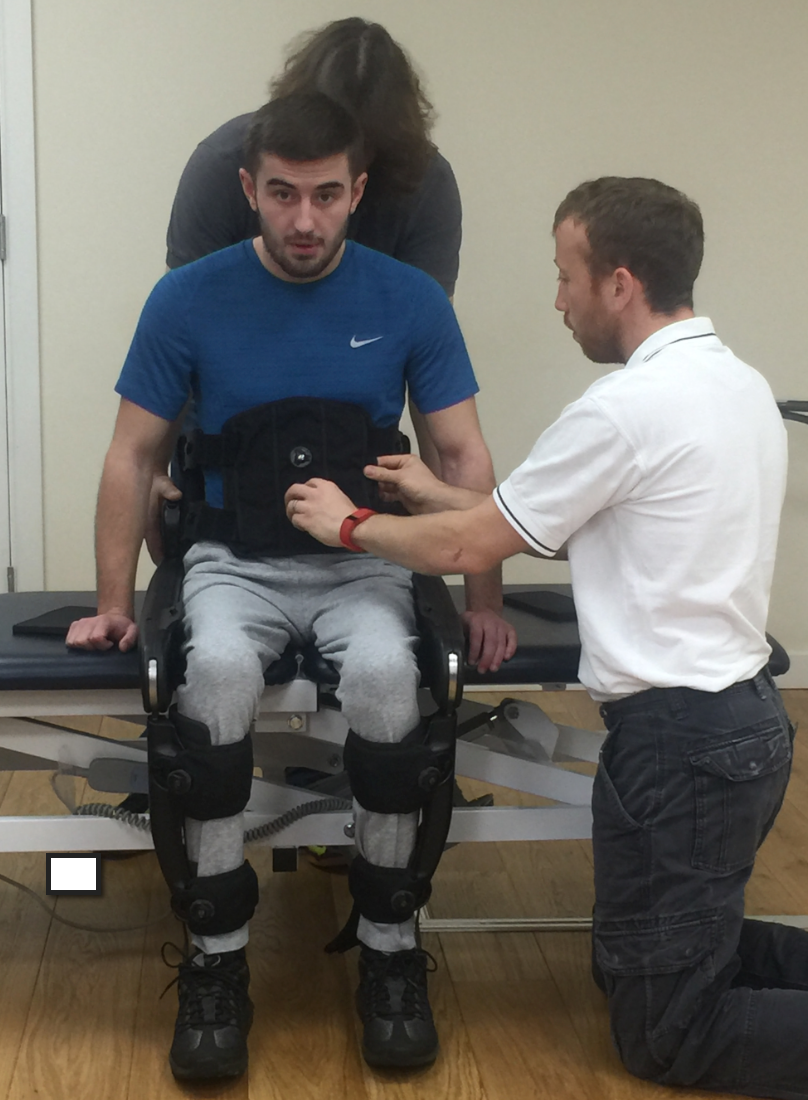 More Rehab offer Therapy with the Indego Exoskeleton