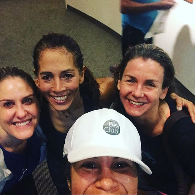 Marin Babes! Power Hour whoot whoot. #bayclubhappy #bayclubmarin #bayclub #groupfitness