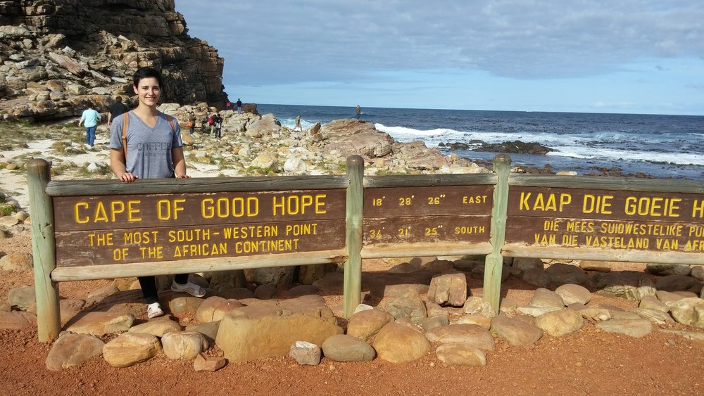 The most south – western point on the African Continent.
