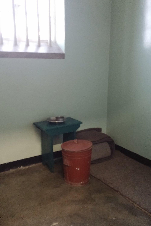 Inside Madiba's cell