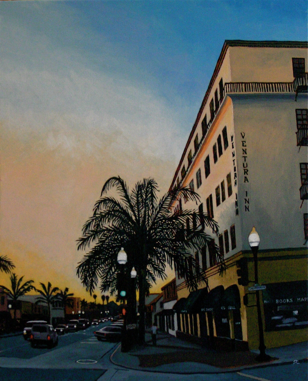 """Ventura Gold"" oil on canvas 24 x 30 sold"