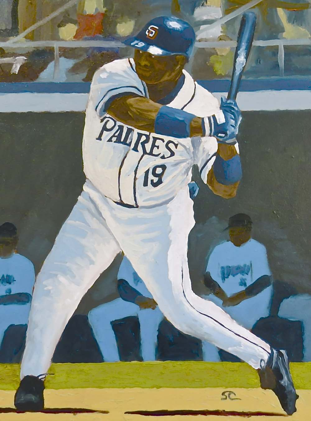 """Mr. Padre"" oil on panel 16 x 20 NFS"