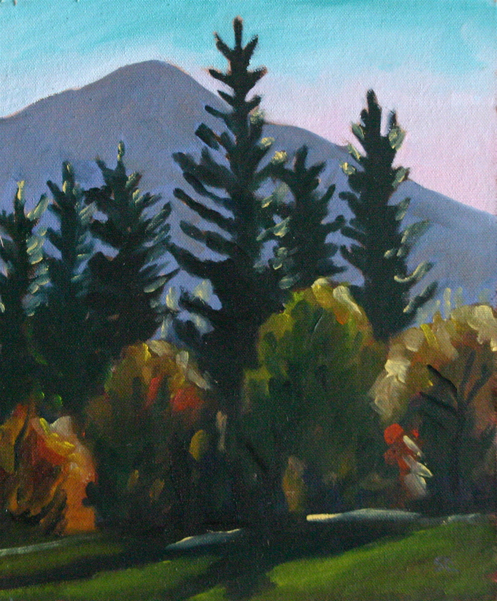 """Afternoon Sun, Awahnee Meadow, Yosemite oil on panel 9 x 12 SOLD"