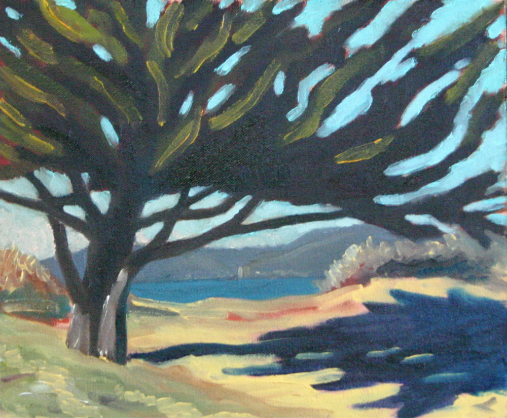 """Marina Park"" oil on panel 8 x 10 sold"