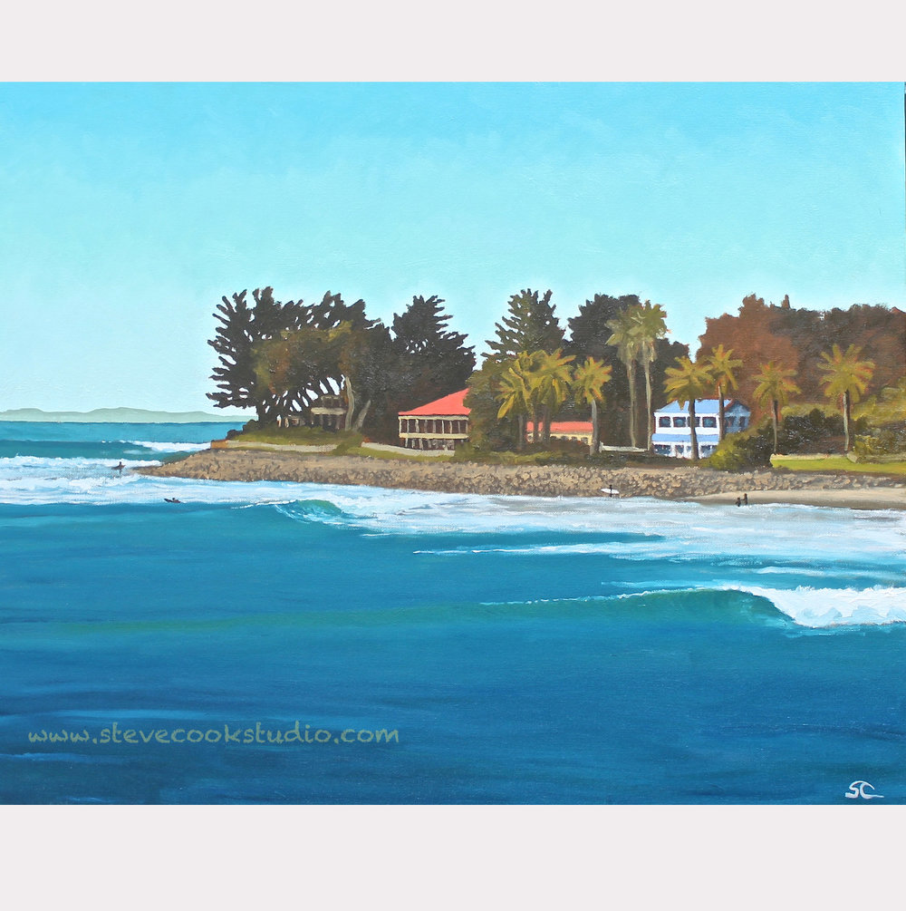 """Rincon"" oil on canvas 24 x 30"
