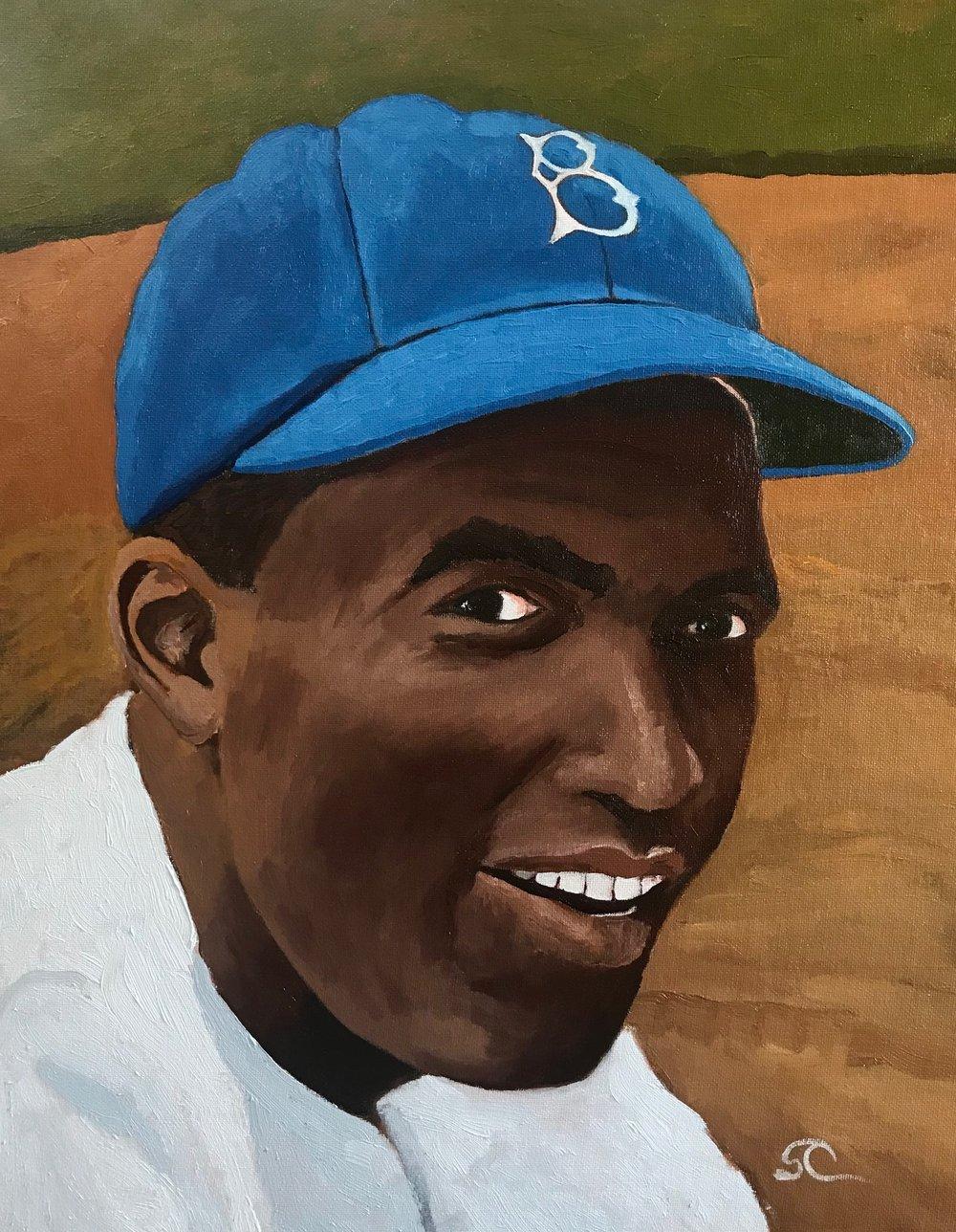 """""""Jackie, #42"""" oil on panel 16x20"""