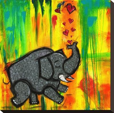 An Elephant in Love