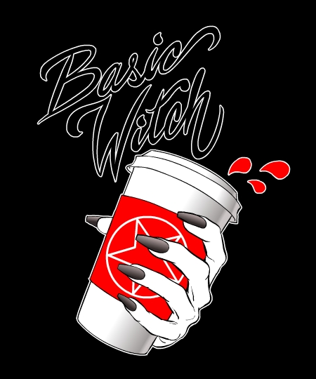 Basic Witch Coffee Addict Tee