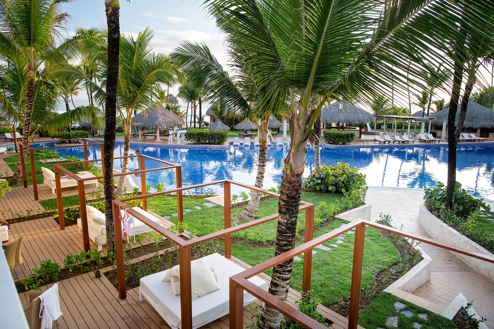 View from the balcony - Excellence Resort Punta Cana
